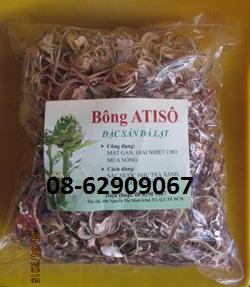Bộng ATISO- Dùng để hạ cholesterol, làm Mát gan ,giải độc, giải nhiệt mùa nóng rẻ