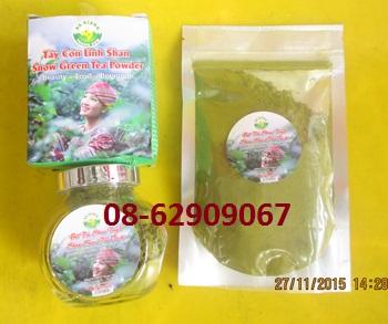 Bán sản phẩm Dùng để tắm hay Đắp mặt nạ tốt- Bột Trà xanh San Tuyết