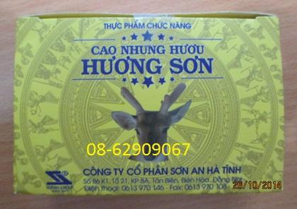 Bán Cao nhung HƯƠU- Bồi bổ cơ thể ,mạnh gân cốt