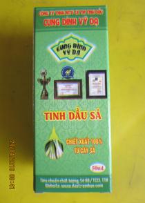 Tinh dầu SẢ, Loại tốt-Dùng khi nhức đầu, cảm mạo, nhức mỏi, khử mùi