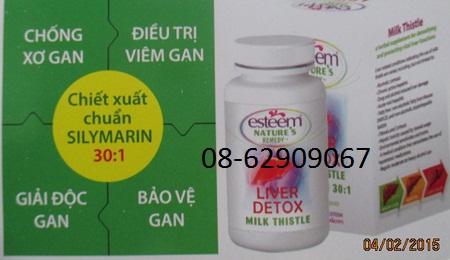 LIVER DETOX-Sử dụng để chữA bệnh gan, ngừa xơ gan