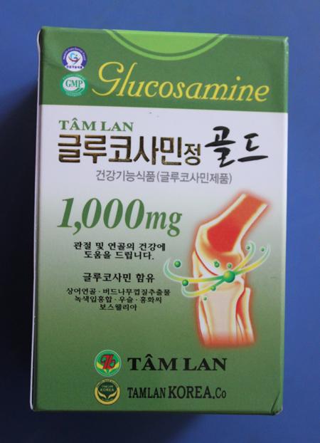 Glucosamin- Sản phẩm tốt, dùng chữa thoái hóa xương khớp, giá tốt