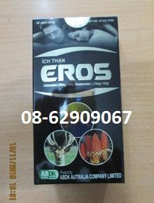 Ích thận EROS- tăng sinh lý, chống nhức mỏi, trị bệnh liệt dương, yếu thận