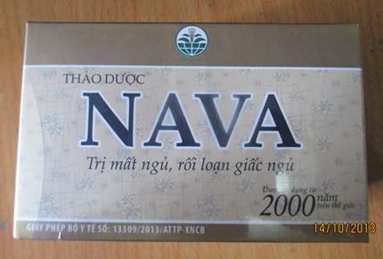 Bán NAVA- Sản phẩm cho người mất ngủ, có giấc ngủ ngon
