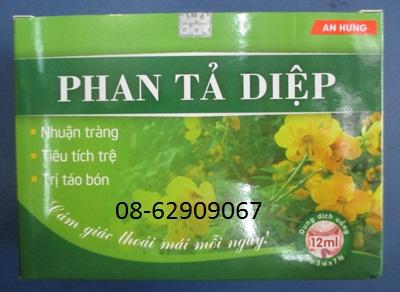 Trà Phan Tả Diệp- Phòng chống táo bón, giúp nhuận tràng, giá rẻ