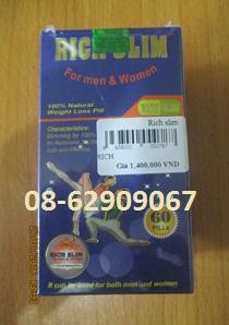 Rich Slim- Hàng MỸ- Sử dụng giúp giảm cân, hiệu quả tốt
