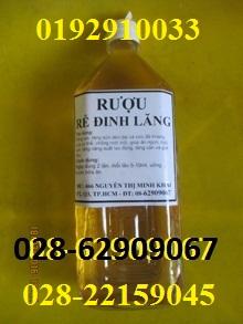 Bán Rượu Đinh Lăng-++_ ngừa tai biến, đột quỵ, bồi bổ sức khỏe