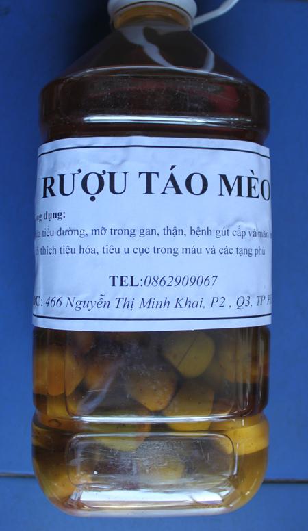 Bán Rượu TÁO MÈO-Để Giúp giảm Béo, Hạ cholesterol, giá ổn