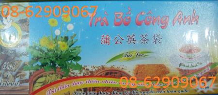 Bán Trà Bồ Công Anh-+-Để giải độc, chữa mụn nhọt, làm đẹp da, thanh nhiệt