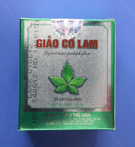 Sản phẩm giúp làm giảm mỡ, ổn huýet áp, giàm cholesterol- Giảo Cổ LAM
