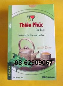 Trà Thiên Phúc-thải độc, chống hoa mặt, giảm cholesterol và thanh nhiệt