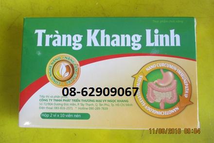 Tràng KHang Linh-=-Sản phẩm Chữa bệnh viên Đại tràng cấp và mãn tính