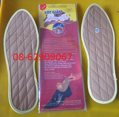 Miếng lót QUẾ- Bảo vệ an toàn đôi chân của bạn ,giá rẻ