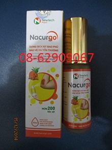 Sản phẩm Nacurgo- giúp cầm máu chữa vết thương tốt