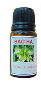 Tinh dầu BẠC HÀ, Chất lượng-Dùng để Giải độc, kháng khuẩn, phòng chông dị ứng