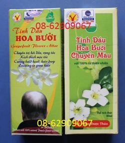 Tinh dầu Bưởi CM, của Long Thuận--Giúp đen tóc trở lại, hết hói đầu- giá rẻ