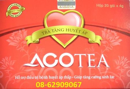Trà ACOTEA- Giúp ổn định Huyết áp, sàn phẩm cho người huyết áp thấp
