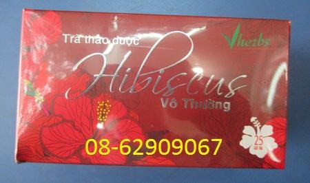 Có Trà HIBISCUS-Làm Đẹp da, giảm béo phì, ngừa xơ vữa, thanh nhiệt-giá rẻ